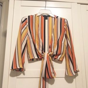 Forever 21 tie shirt